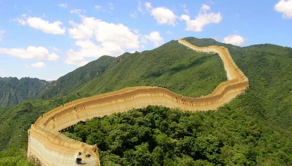 doge china wall