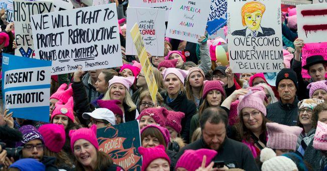 левые протесты в США